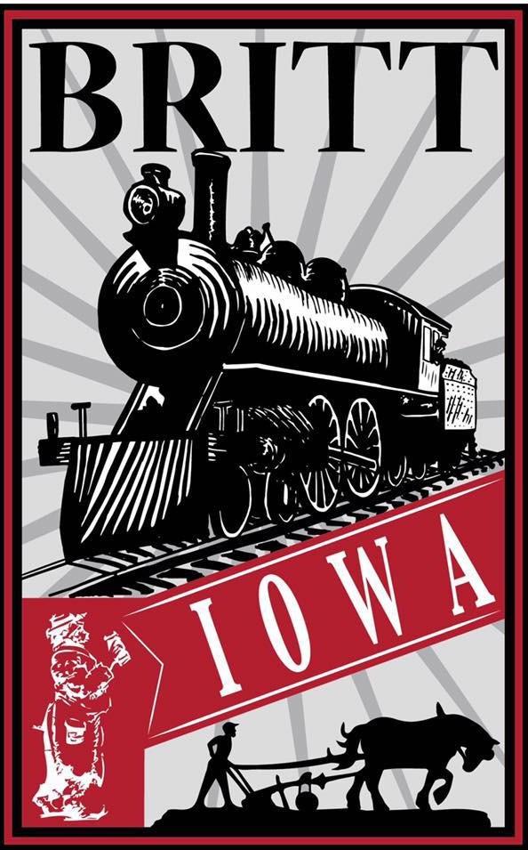 Britt Iowa Logo